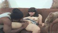Just oral porn - Brunette fucks a black stud she just met