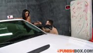 Biggest dick man Punishbox - star gets punished by her biggest