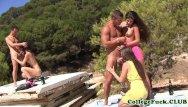 Pics of teen sex on beach Sophomore babes outdoors beach sex orgy
