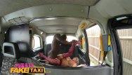 How to make fake cum Femalefaketaxi big black cock makes cabbie cum