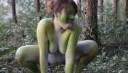 Naked and funny girls pics - Stark naked japanese fat frog lady in the swamp hd