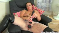 Fun factory vibrators reviews - British milf sam works her clit with a huge vibrator