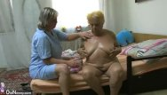 Hairy blond guy Oldnanny chubby granny masturbation, nice threesome, young girl and guy