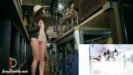 Barmaid nude Jeny smith naked barmaid on duty