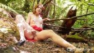 Niki aneja nude fakes Slim anja masturbating outdoors