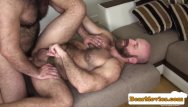 Gay film angel - Bearded chubby bear fucking mature guys ass