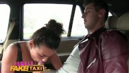 All over her tits pornhub Femalefaketaxi hot cabbie wants to get fucked and get cum all over her tits