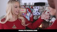 Free xxx story pic Familystrokes - step-sis fucked during christmas pic