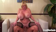 Cum eat who woman Giant boobed mature woman fucks and eats cum