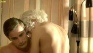 Tv celeb porn fake Elena satine fucking in magic city tv series