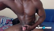 Male gay amateur porn free Athletic hunk edges drains his monster bbc