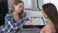 Eating pussy home video - Lesbea young girlfriends home alone share pussy eating orgasms 69 and trib