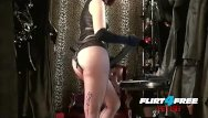 Free bdsm promotional videoa Mistress humiliates slave with bbc strap on bdsm