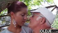 Dick man sucking there Young girlfriend caught fucked by old man she sucks his dick and swallows