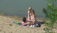 Young couple porn movie clips Young couple loves fucking at the beach