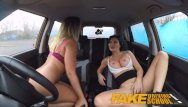 Low sex drive men Fake driving school lesbian sex with hot australian babe and busty milf