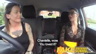 Adult course obstacle - Fake driving school new driver gets a crash course in strap on lesbian fuck