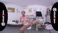 German grany porn Naughty blonde granny who waits for her doctor
