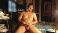 Cyber free game gay Louis carr likes games involving hot wax and his cock