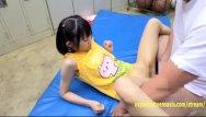 Latex change Aya miyazaki jav idol fucked in the gym changing room on the floor