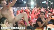 100 free handjob Dancing bear - cfnm party - around the world in 100 mouths
