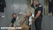 Photos of gay soldier Gay patrol - aggressive cops take down fake soldier and lay down the law