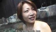 Nude japanes television sex onsen games Jav milf maki tomoda onsen foreplay subtitles
