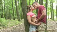 Barbie bucxx max hardcore Dane jones outdoor fuck in public young lovers find perfect tree to fuck on