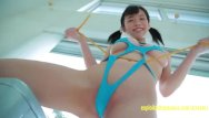 Girl pee swimsuit Amateur suzuki asahiis appears in her debut movie teasing in swimsuit