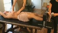 Fetish foot gay Naughty homosexual dude garad enjoys bondage session