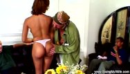 Vintage nightgown with open shoulder Interracial amateur swing her wifes open her pussy wide