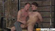 Gay bondage cum control Sean taylor jerks kamyk walkers schlong