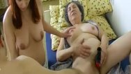 Lusty xxx granny Omahotel hairy grandma and lusty couple threesome