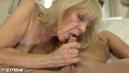 Cock throbbed 21sextreme horny granny rides young studs throbbing cock
