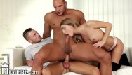 Bisexual occurrence female Bisexual teacher fucks male and female student