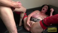 Ball cock domination spanking - Thick slut curvy gal face fucked and dominated by fat cock