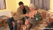 Granny intersex porn Granny is still quite a skilled cock pleaser