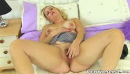 Small tits and fanny - British lily milf shares her fuckable fanny with us