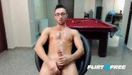Gay guys jacking off Flirt4free marshall dick - european twink jacks off his big uncut cock