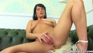 Woman doing woman tits English milf leah rather rubs her fanny than do cleaning