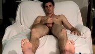 Gay male foot fetish sites Young foot fetish fan strips down to work on his fat cock