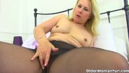 Encouraged not to wear pantyhose - English milf michelle does not wear knickers for a reason
