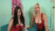 Free porn nylon and latex gallerys Fabulous lesbian babes having fun with their toys