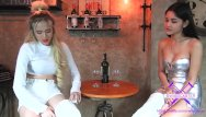 Asian restaurants in dallas - Fetisch-concept com - 2 girls with long cast legs in restaurant