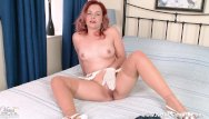 Sheer wet white bikini Retro babe anna belle strips off sheer white panties for nylons pussy play