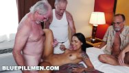 Old lady gloryhole Blue pill men - three old men and a latin lady named nikki kay