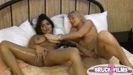 Retro lesbian thumbs - Busty retro lesbian toyed