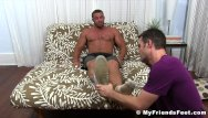 Jeff buckley homosexual gay Buffed hunk receives feet worshiping for a homosexual freak