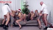 Anjolina jolee nude movie Christmas orgy w/ german hotties mia blow, jolee love wild vicky pt.2