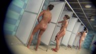 Adult erector sets Real public showers with hidden cam set inside